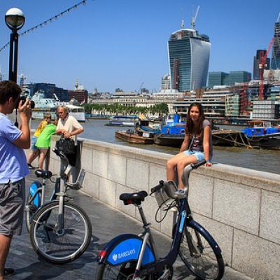 London Thames Green Bike Tour