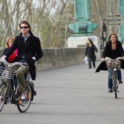 Paris Green Bike Tour